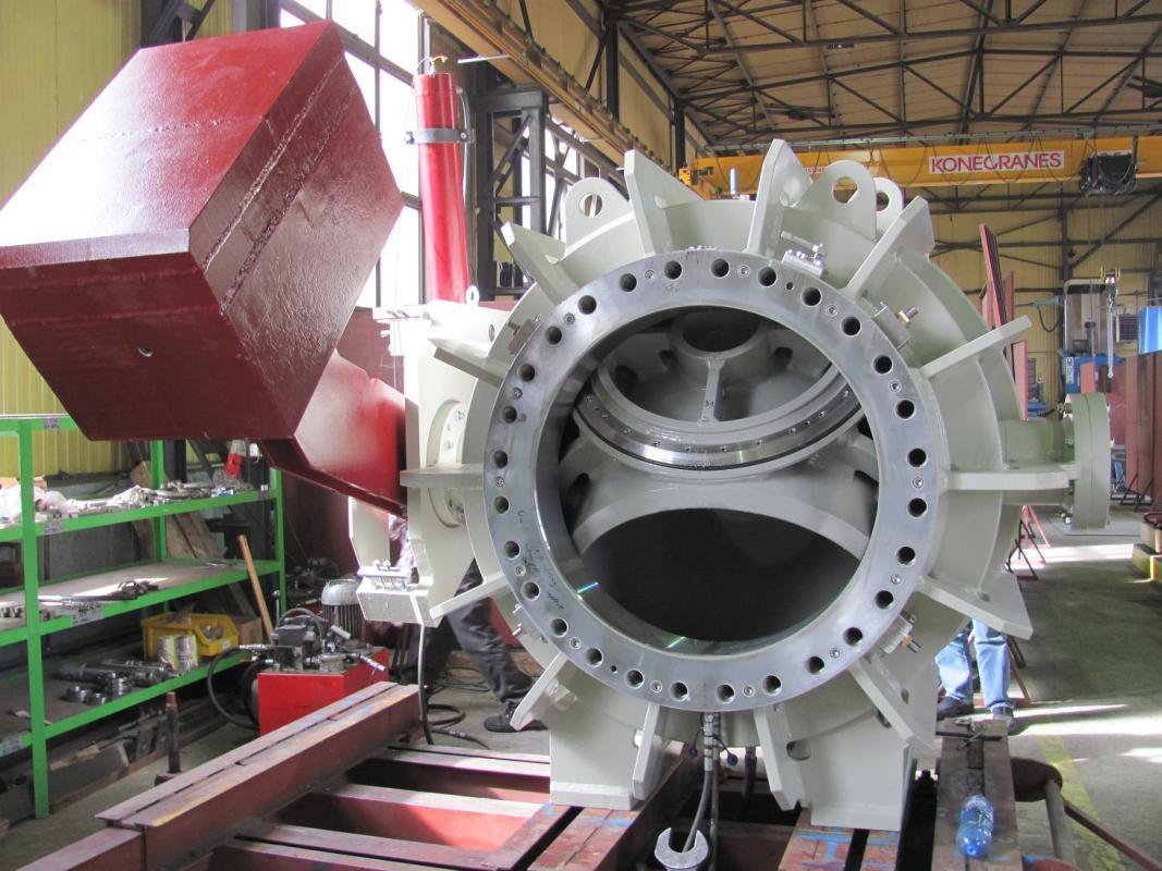 Spherical Turbine Inlet Valves Type Spv 2p M Tb Hydro