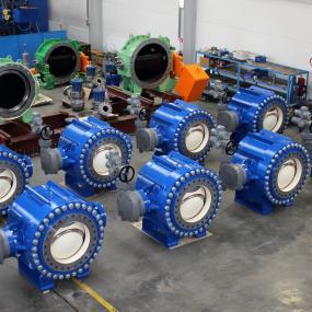 Ball valves of light design - type BLV-2P