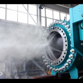 Zawór kulowy turbinowy typu SPV-3P-M
