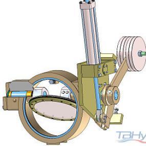 Válvulas de estrangulación tipo HTCV-WE