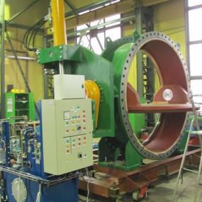 Butterfly shutoff valves - type BTV