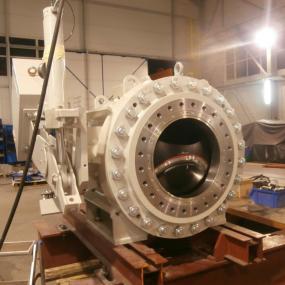 SPV-2P-M 涡轮球阀