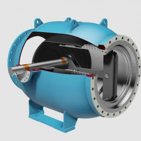 Regulating valves type PLV