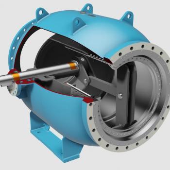 Regulating valves type PLV